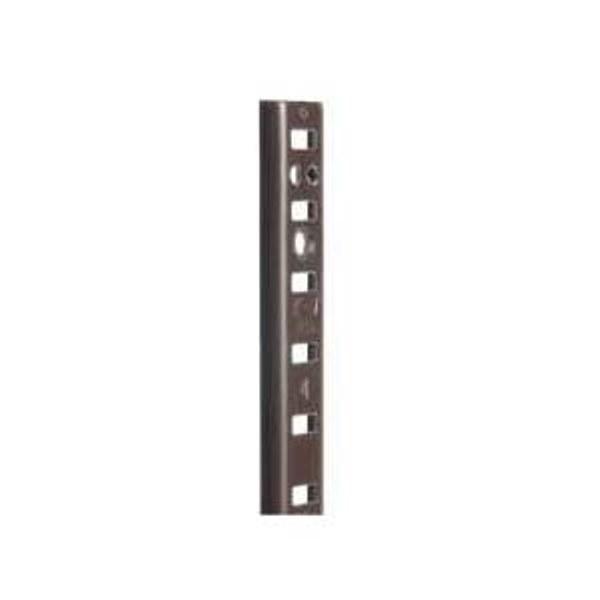 Shelving Hardware Kv 255 Pilaster Standards 96 Quot Brown