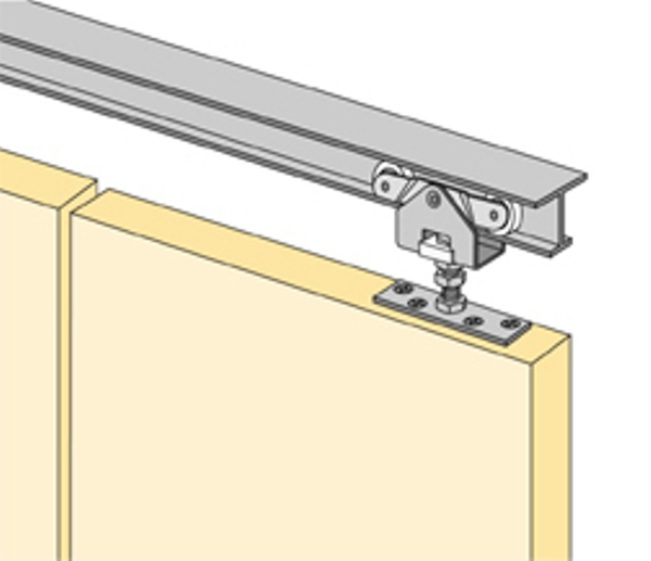 GRANT HARDWARE - SLIDING DOOR :: HETTICH 1260 SERIES DOOR Hardware ...